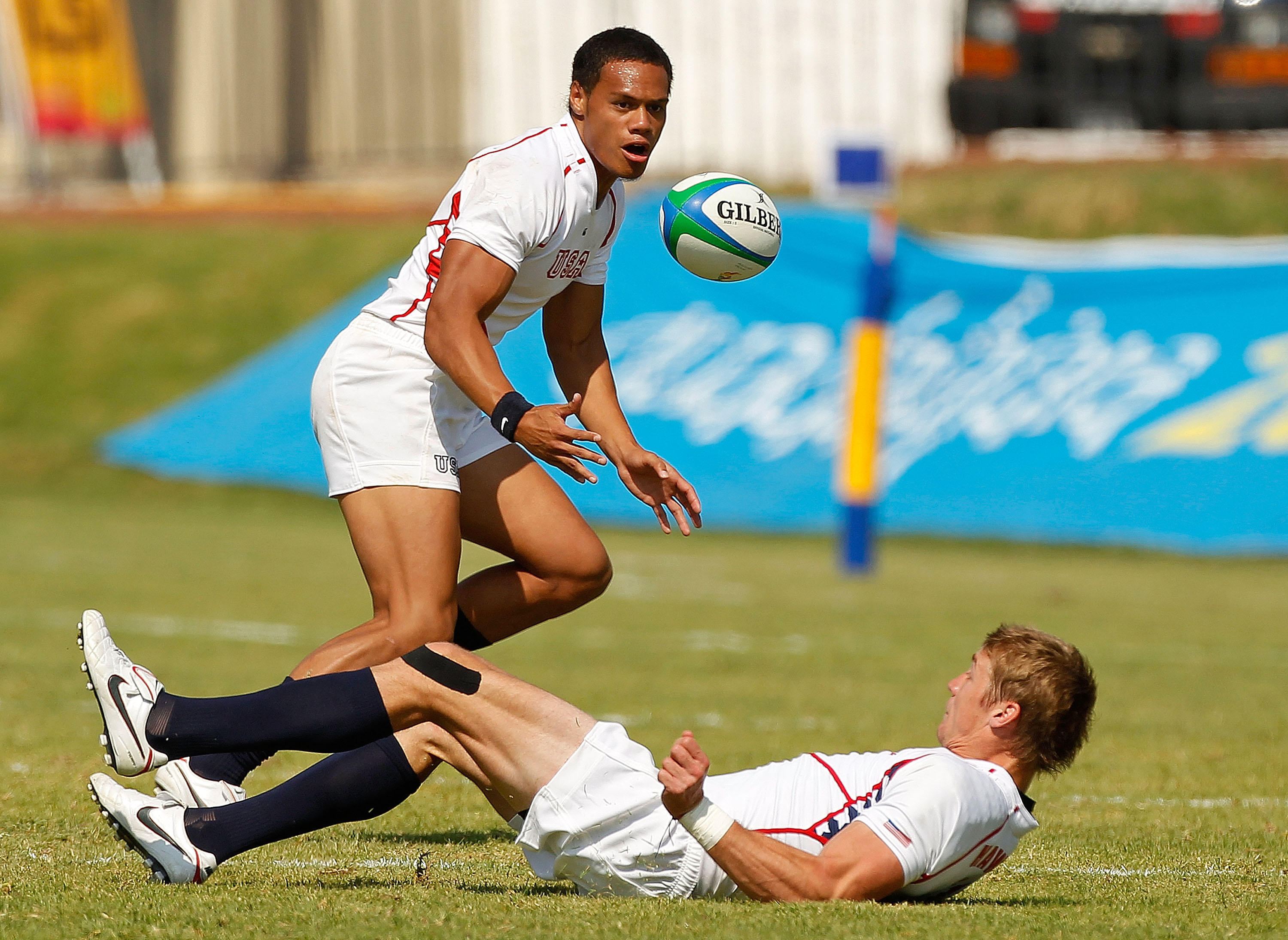 Eagles Action at Day One of USA Sevens