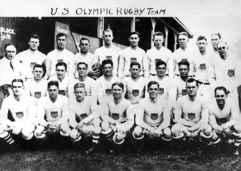 USA Olympic Rugby Teams Inducted into IRB Hall of Fame