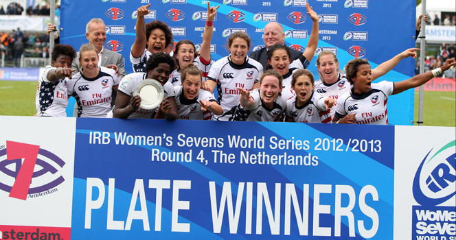 Eagles win Plate at Amsterdam Sevens