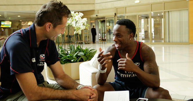 Men's Eagles Sevens retain speed with Carlin Isles