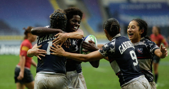 Eagles claim third place victory with thrilling sudden death try