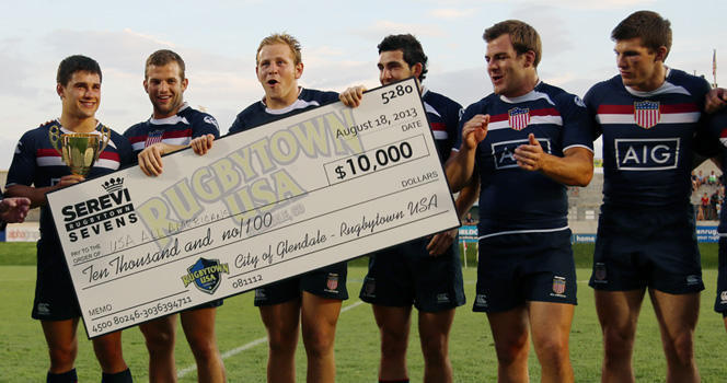 Collegiate All-Americans capture Cup at Serevi RugbyTown Sevens