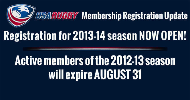 USA Rugby 2013-14 Membership registration now open