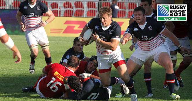 Eagles come up short in second leg of RWC 2015 qualifier
