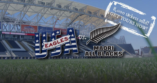 Tickets selling fast for USAvMaoriABs at PPL Park