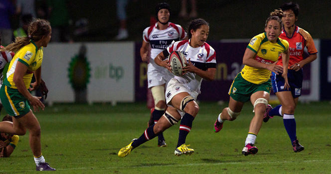 Griffin kicks late conversion to seal seventh place for Women's Eagles Sevens