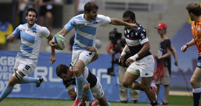 USA Sevens: Eagles, Pumas, Les Blues, Los Leones