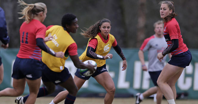 Meschisi, Villines talk rugby ahead of Atlanta 7s