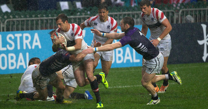 Eagles slip up against Scotland in Hong Kong