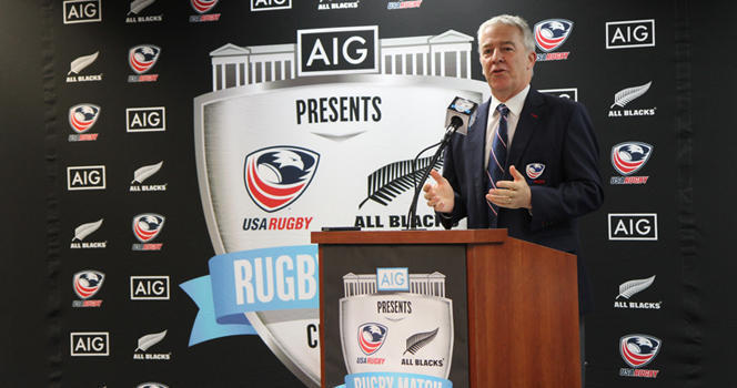 USA Eagles to take on New Zealand All Blacks in Chicago