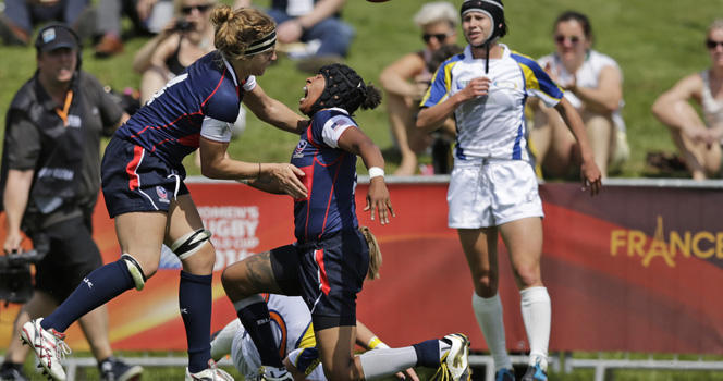 Women's Eagles gain bonus point in big win against Kazakhstan