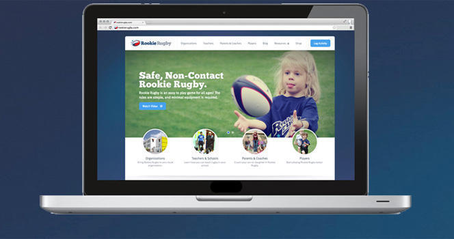 Rookie Rugby gets new website