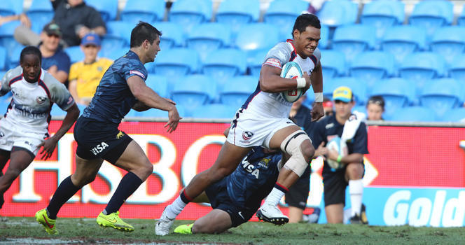Eagles one win short of reaching Gold Coast Sevens Cup Quarterfinal