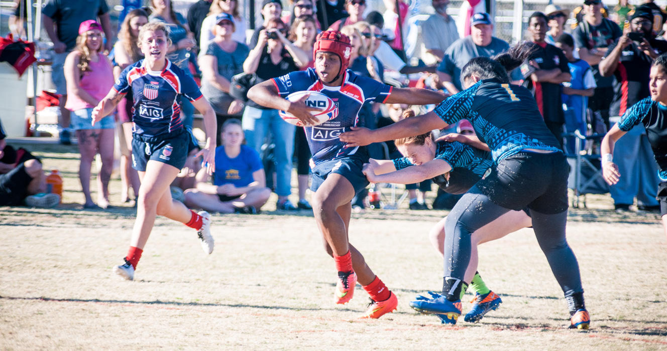 Making history with the Girls High School All-Americans powered by Serevi in Las Vegas