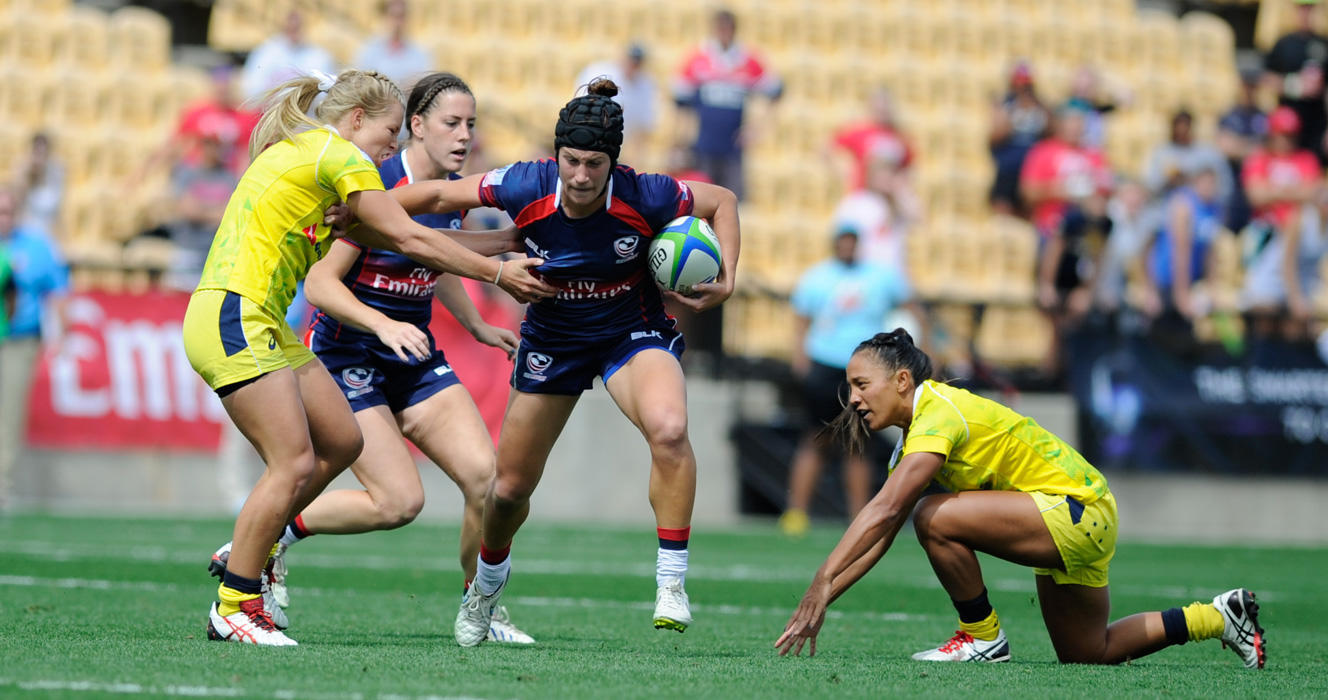 Australia falls from Atlanta 7s Cup contention with loss to Eagles in Quartefinal