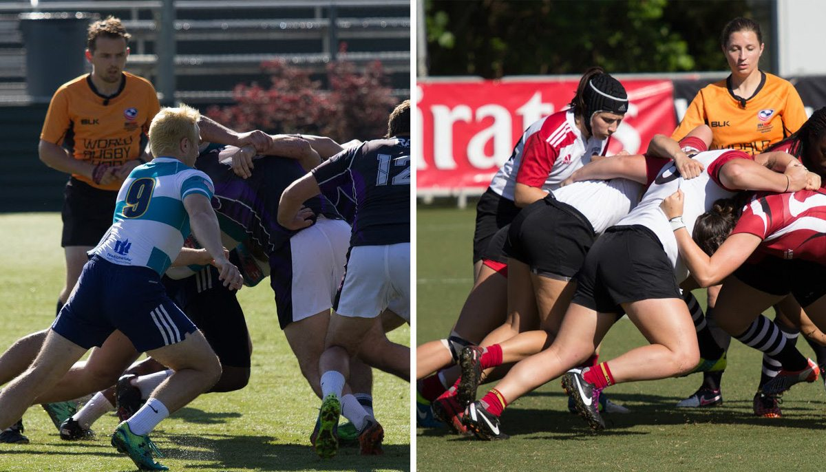 College 7s 2016: Day Two, Division II