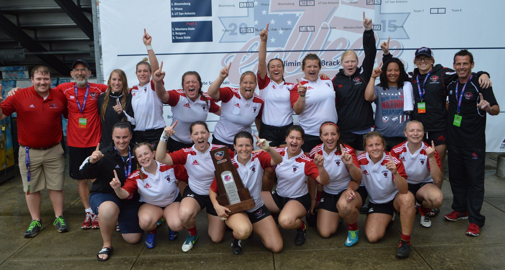 College 7s 2016: Davenport, Duluth sweep Division II titles