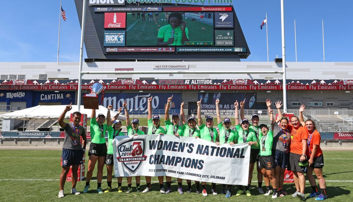 Scion, Rugby Utah win big at Club 7s National Championships
