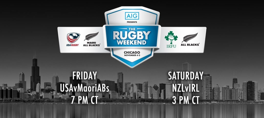 """Fan hotels available in Chicago for """"The Rugby Weekend Presented by AIG"""""""