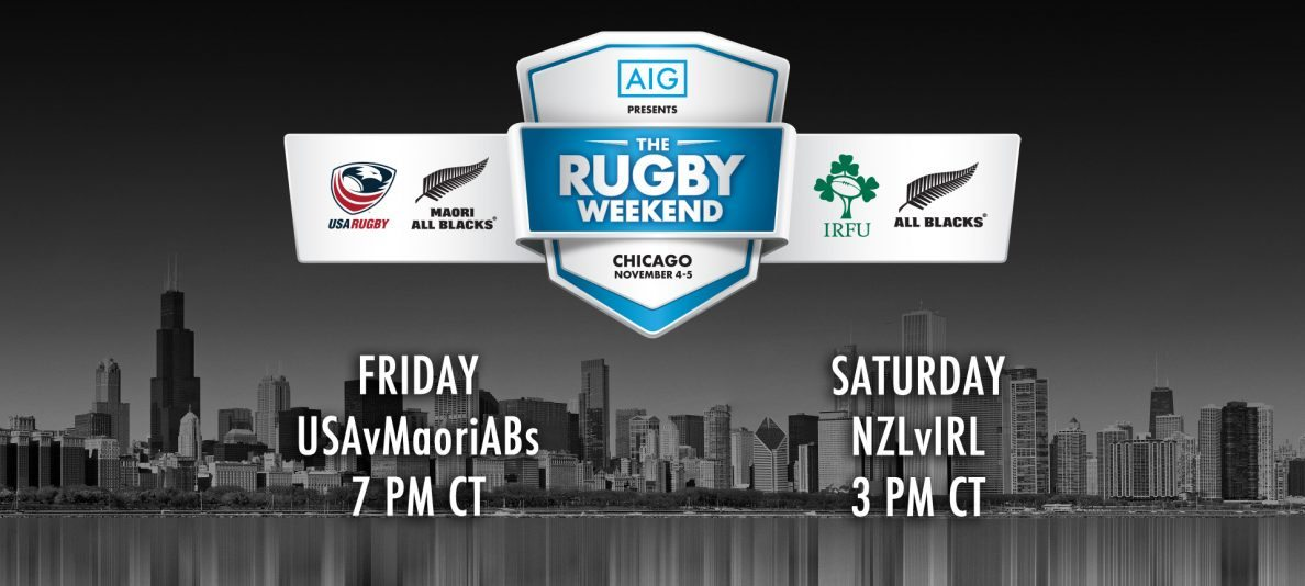 "Fan hotels available in Chicago for ""The Rugby Weekend Presented by AIG"""