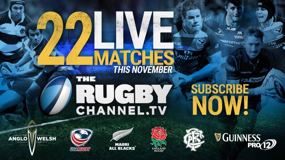 The Rugby Channel Announces a November to Remember for Subscribers