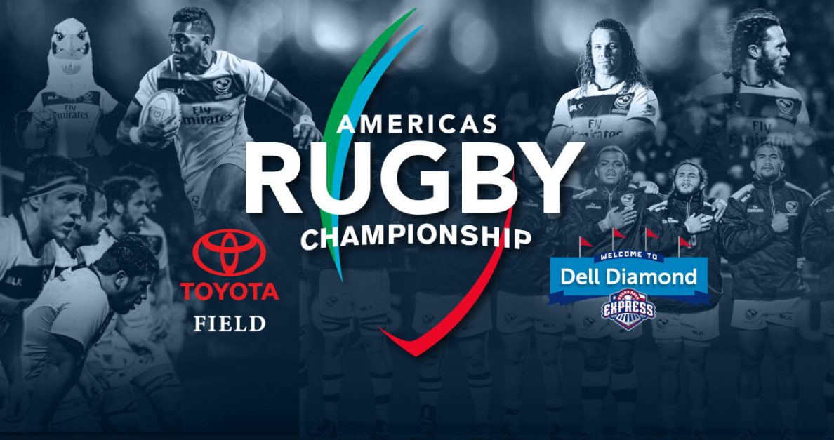 Texas kickoff times announced for Americas Rugby Championship 2017