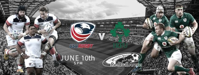 "Men's Eagles to host Ireland at Red Bull Arena for ""Emirates Airline Summer Series"" match"