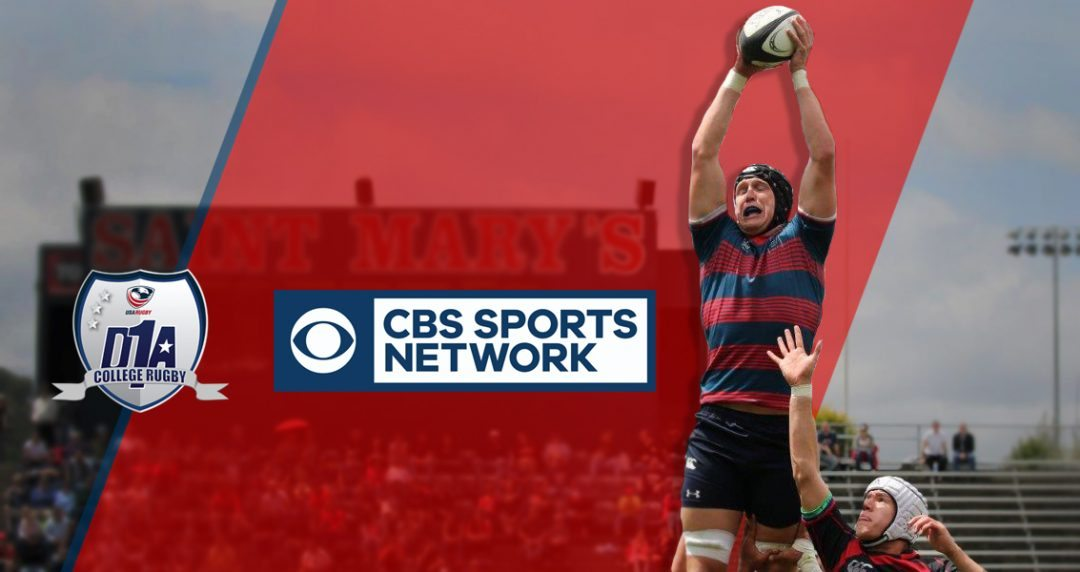 CBS Sports Network to air D1A Rugby National Championship