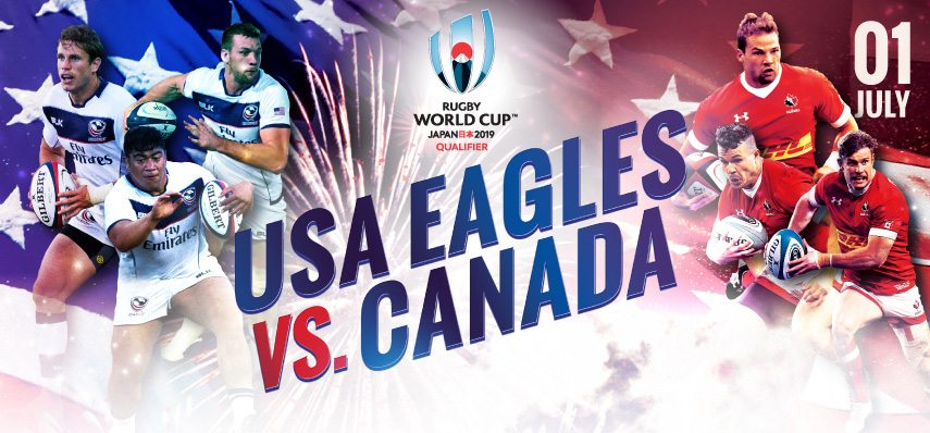 San Diego to welcome USA-Canada rivalry in Rugby World Cup 2019 Qualifier