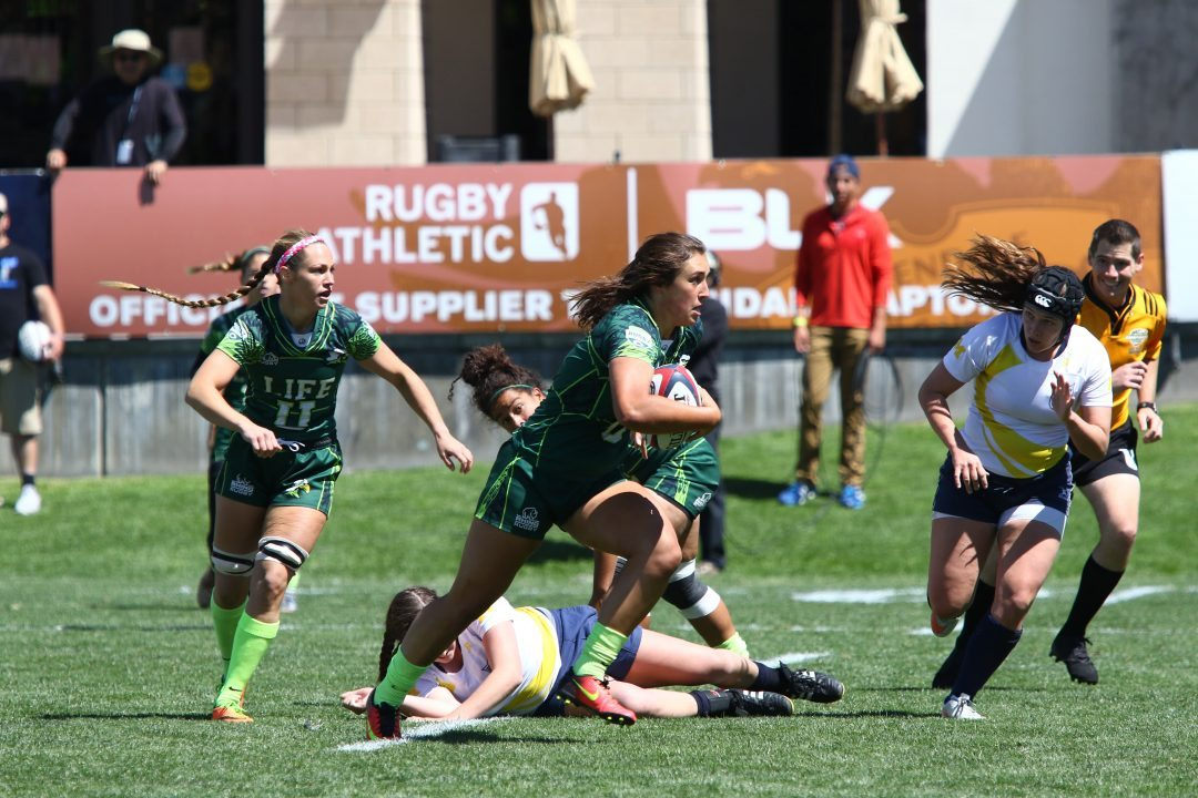 Heavy hitters make for exciting Women's College 7s Cup Quarterfinals