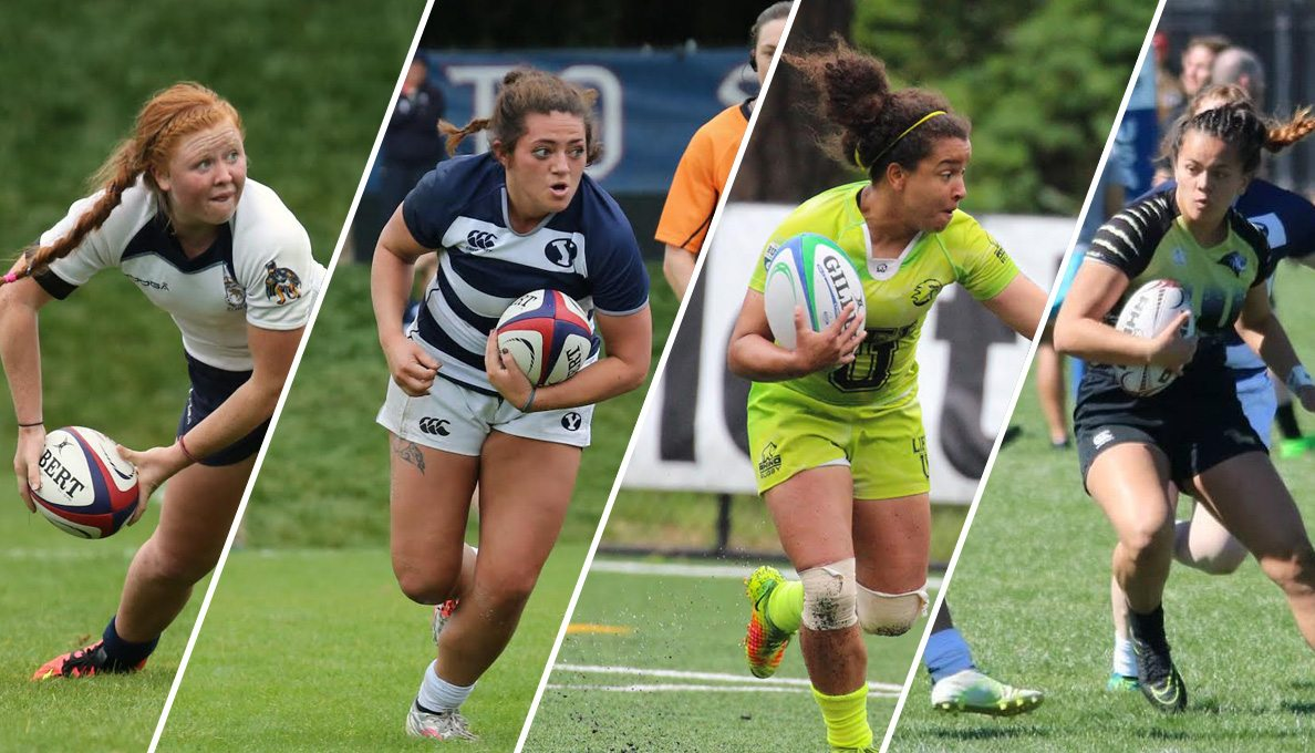 Four best from women's college rugby to decide D1 Elite title