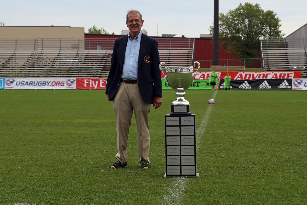 Signes recognized at Club 7s Nationals; Championship Cup named in his honor