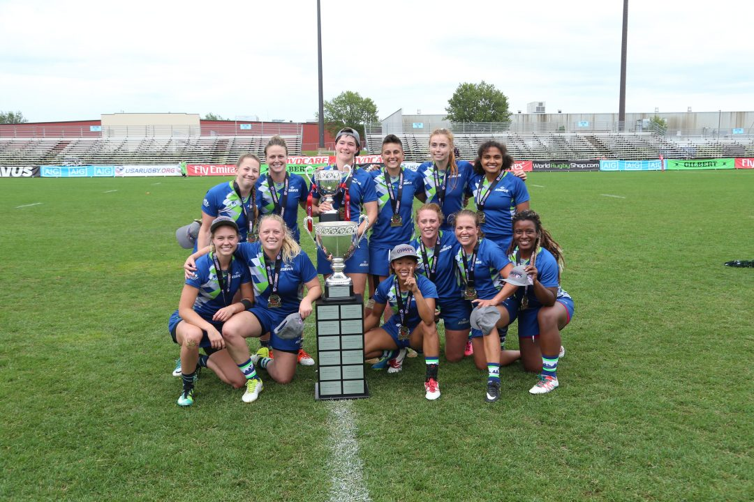 Women of Atavus ride perfect record to first Club 7s National Championship