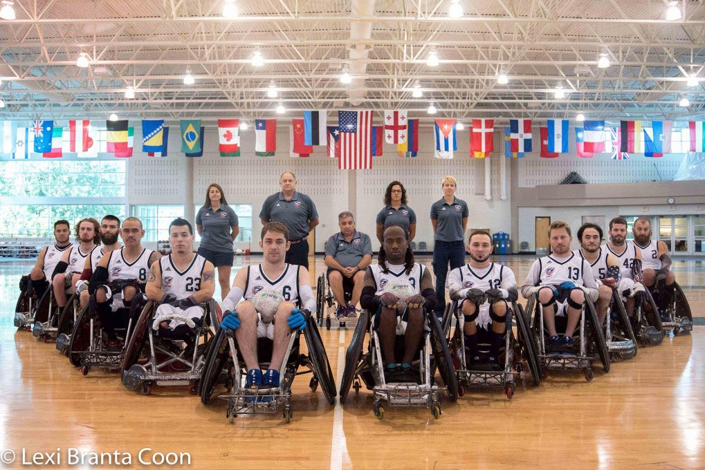 Head Coach James Gumbert discusses IWRF Americas Championship, wheelchair rugby experience