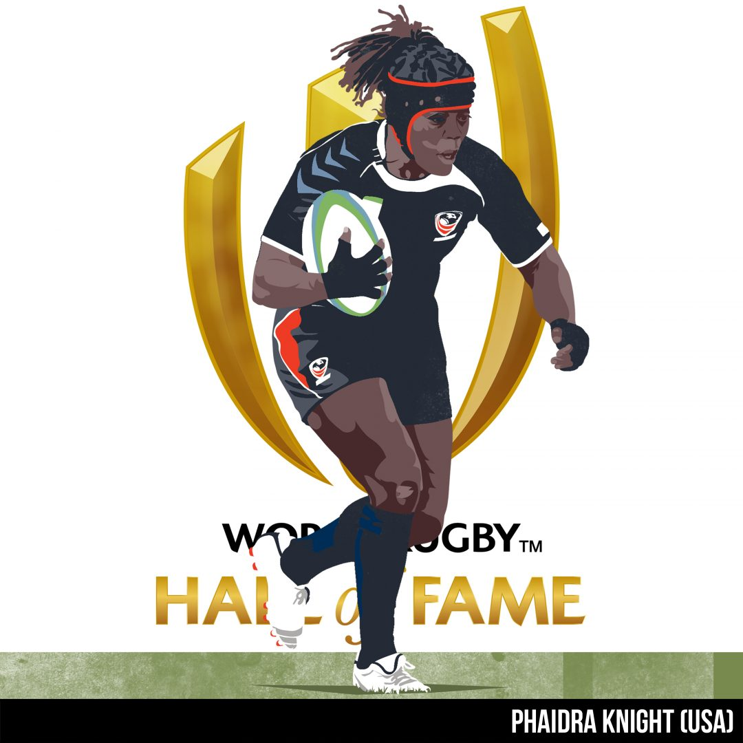 Phaidra Knight inducted into World Rugby Hall of Fame