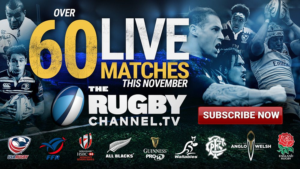 The Rugby Channel Announces November Line Up