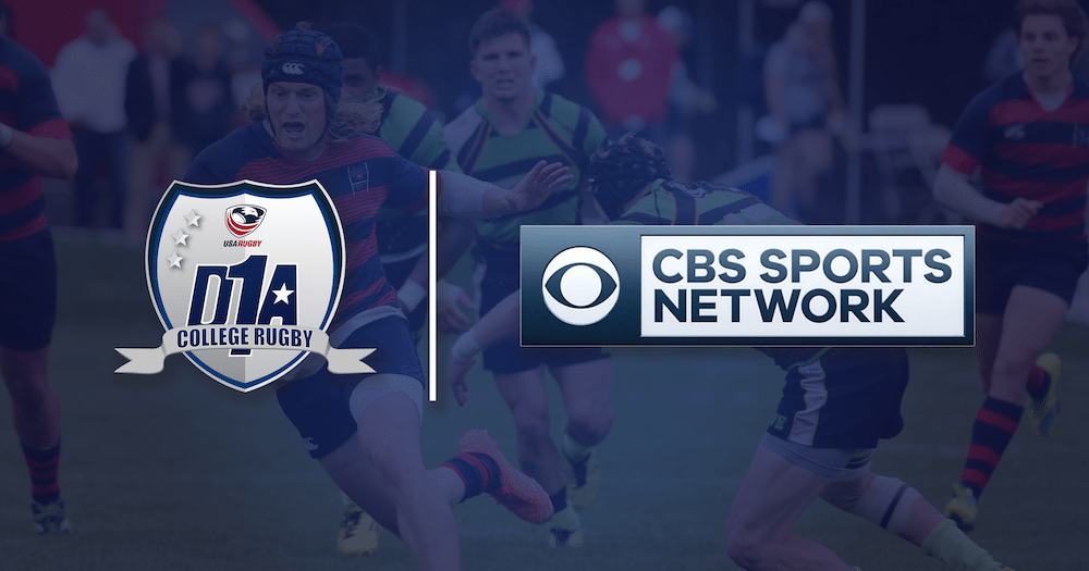 USA Rugby Renews Deal with CBS Sports Network to Increase Coverage of Men's D1A National Championship