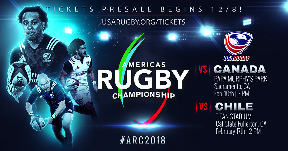 USA Rugby Announces two renewed matchups for remaining ARC home schedule