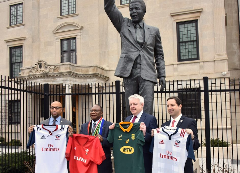 RIM announces match between Wales and South Africa in Washington D.C.
