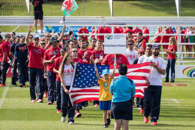 Rugby Footprint Grows with USA Touch's Participation in 2018 Youth Touch World Cup
