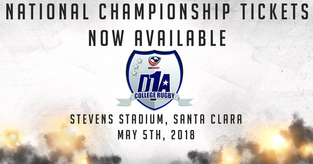 Santa Clara University to host 2018 D1A Championship, Tickets now available