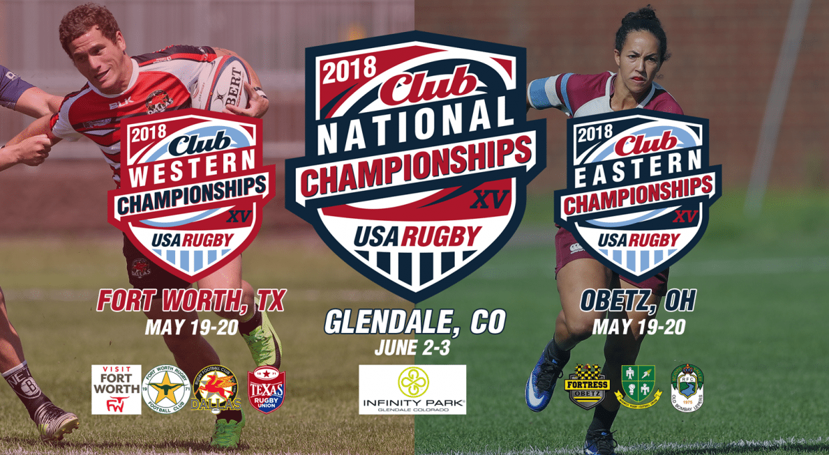 Colorado, Ohio, and Texas to host 2018 Club Playoffs