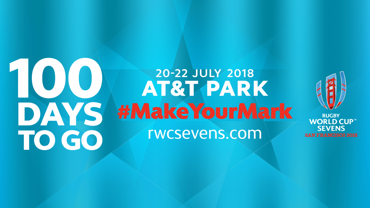 Rugby World Cup Sevens 2018 Celebrates 100 Days to Go