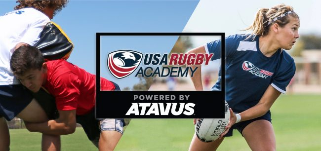 USA Rugby Academy powered by Atavus announced for Spring/Summer 2018
