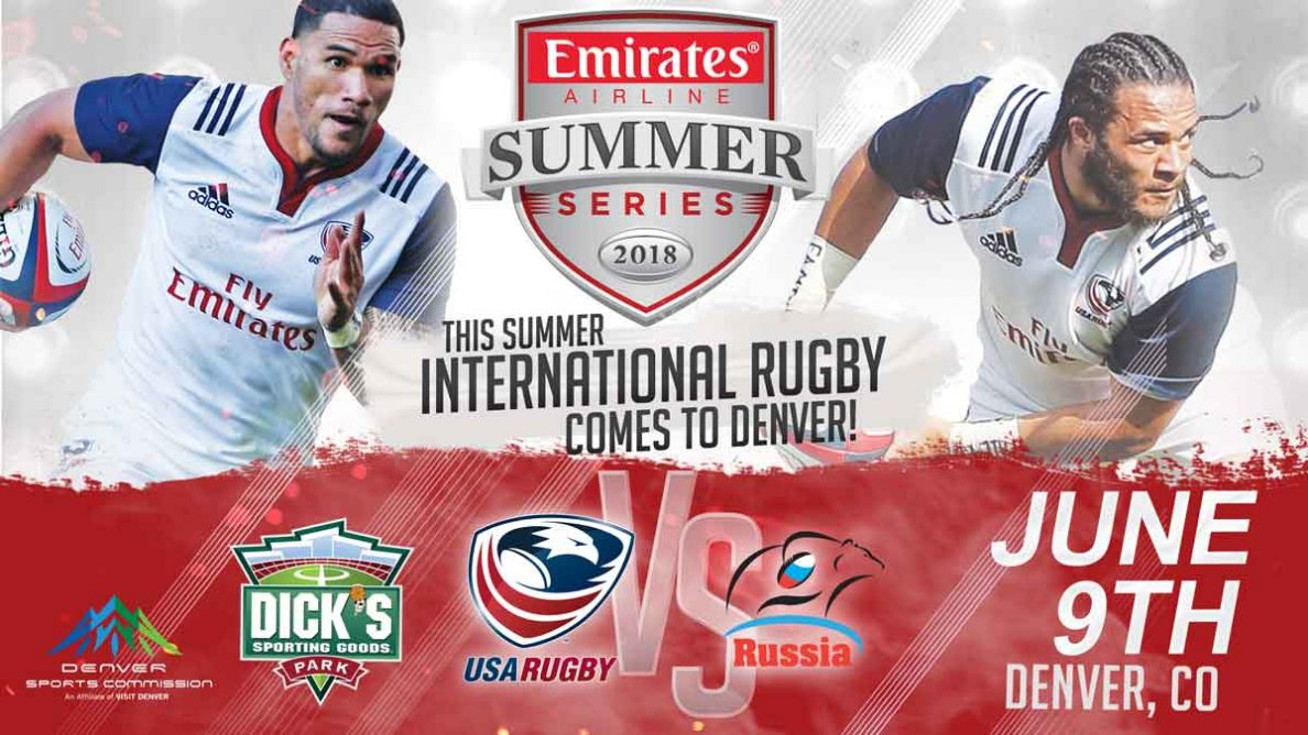 World Rugby Confirms Men's Eagles to Play Russia in Denver