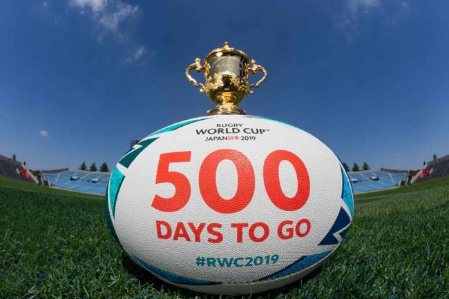 Rugby World Cup 2019 Preparations Advancing with 500 Days To Go