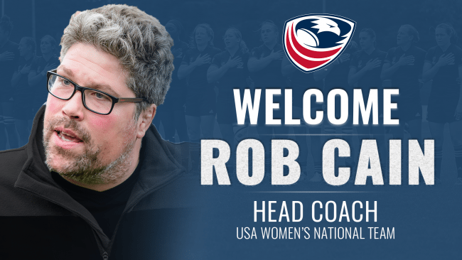 USA Rugby Selects Saracens Women's Rob Cain as Head Coach of Women's National Team