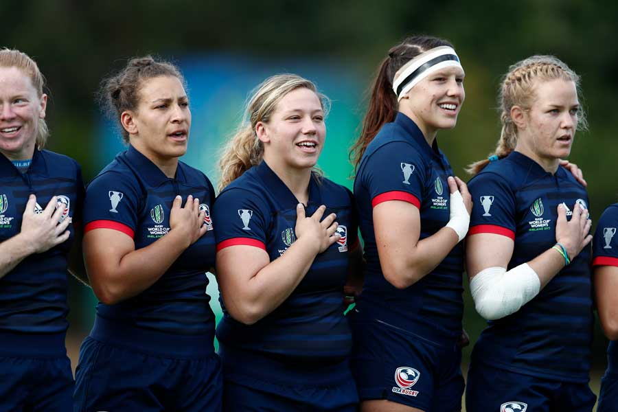 Women's Eagles to Play Ireland in One of Three Road Fixtures of 2018 November Tour
