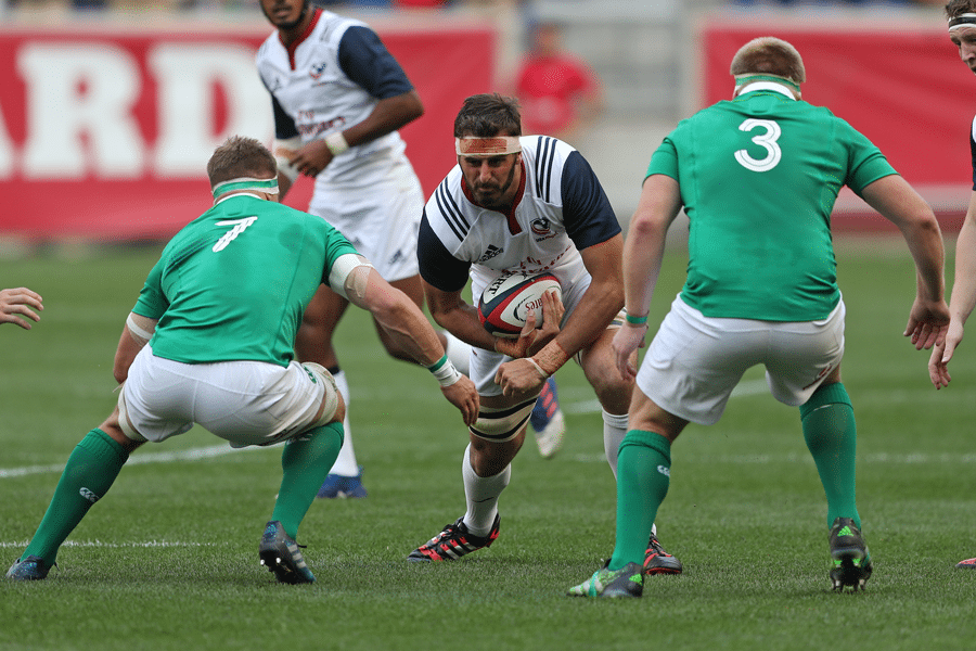 USA Rugby Confirms Men's National Team to Play Ireland at Aviva Stadium in Dublin
