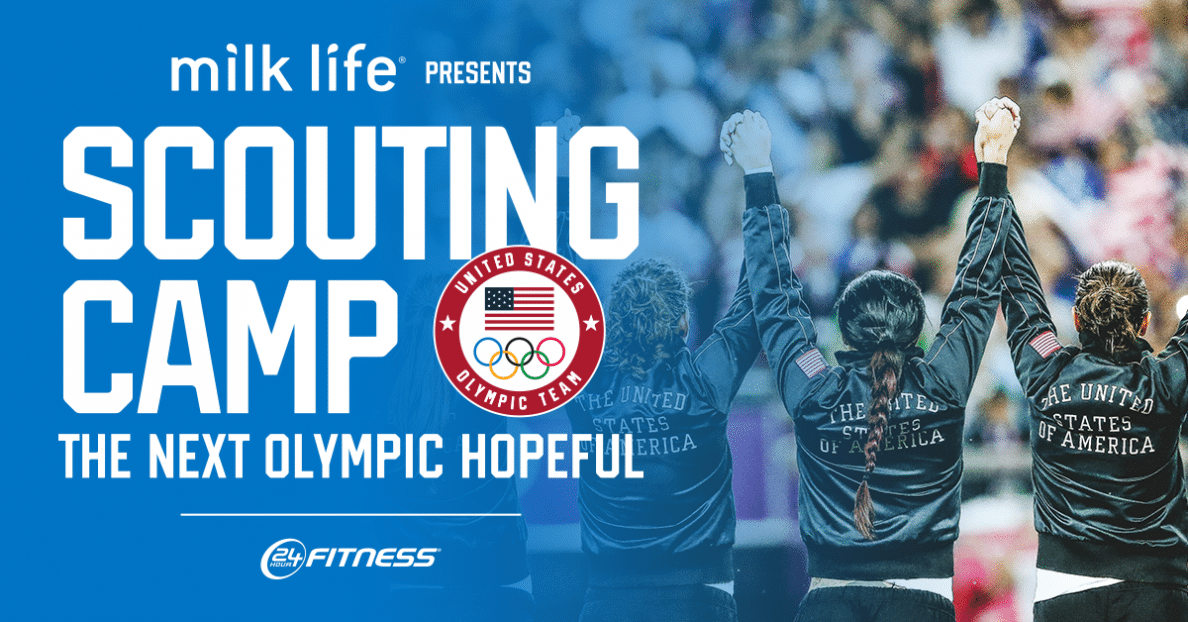 """U.S. Olympic Committee unveils 90 finalists for """"Milk Life presents, Scouting Camp: The Next Olympic Hopeful"""""""